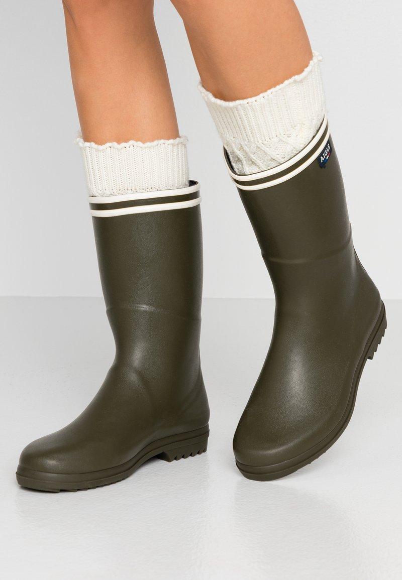 Aigle - CHANTEBOOT - Bottes en caoutchouc - kaki