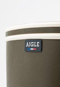 Aigle - CHANTEBOOT - Bottes en caoutchouc - kaki - 2