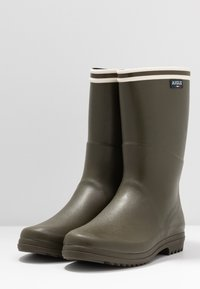Aigle - CHANTEBOOT - Bottes en caoutchouc - kaki - 4