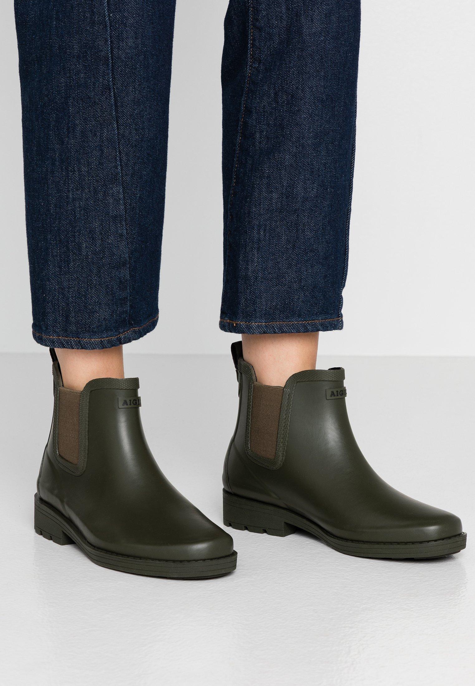 Aigle CARVILLE WOMAN - Gummistövlar - very kaki