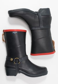 Aigle - MISS JULIE  - Wellies - marine/rouge - 3