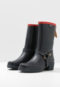 Aigle - MISS JULIE  - Wellies - marine/rouge - 4