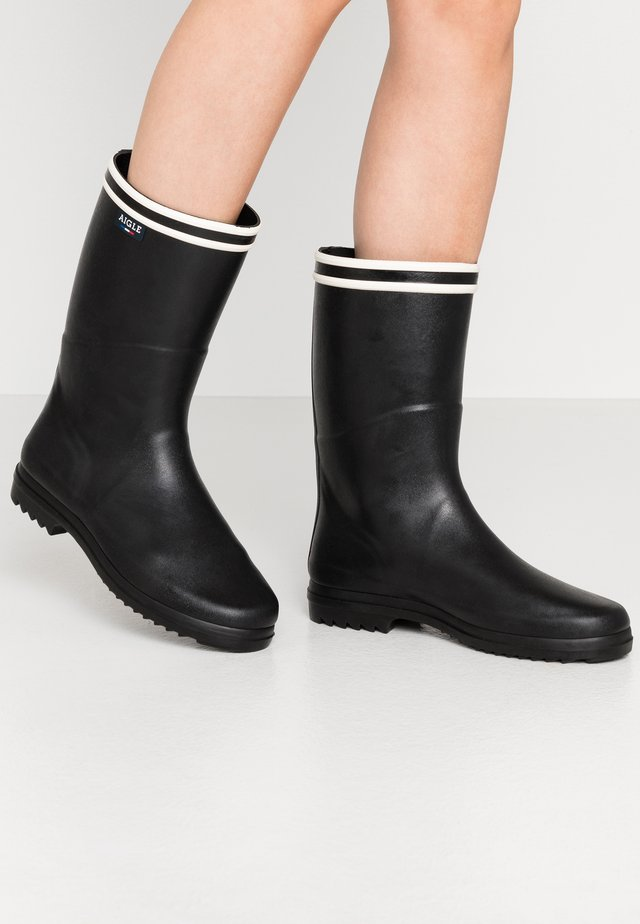 CHANTEBOOT  - Wellies - noir