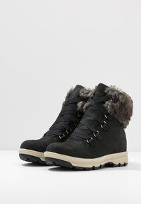 Aigle - TENERE LIGHT RETRO  - Talvisaappaat - black - 4