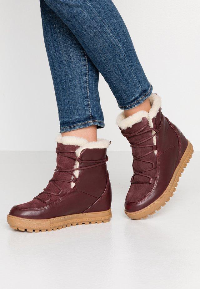 LAPONWARM - Winter boots - sepia