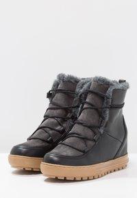 Aigle - LAPONWARM - Bottes de neige - black - 3