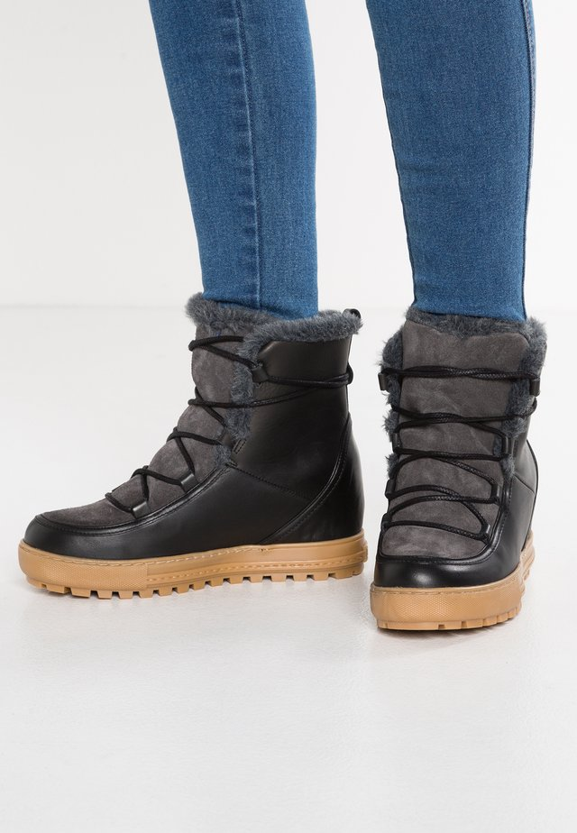LAPONWARM - Winter boots - black