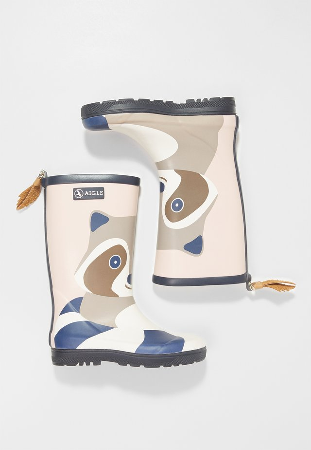 WOODYPOP FUN - Wellies - racoon