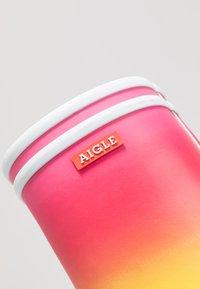 Aigle - LOLLY POP KID - Wellies - multicolor - 2