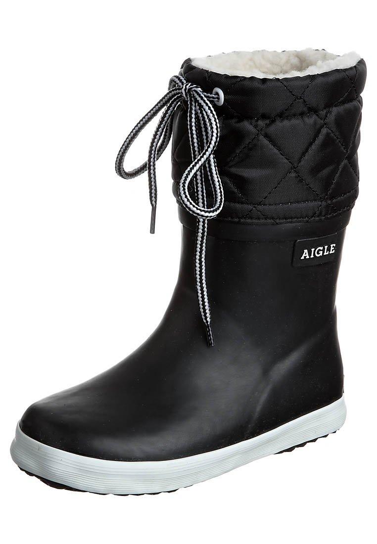 Aigle - GIBOULÉE - Gummistøvler - noir blanc