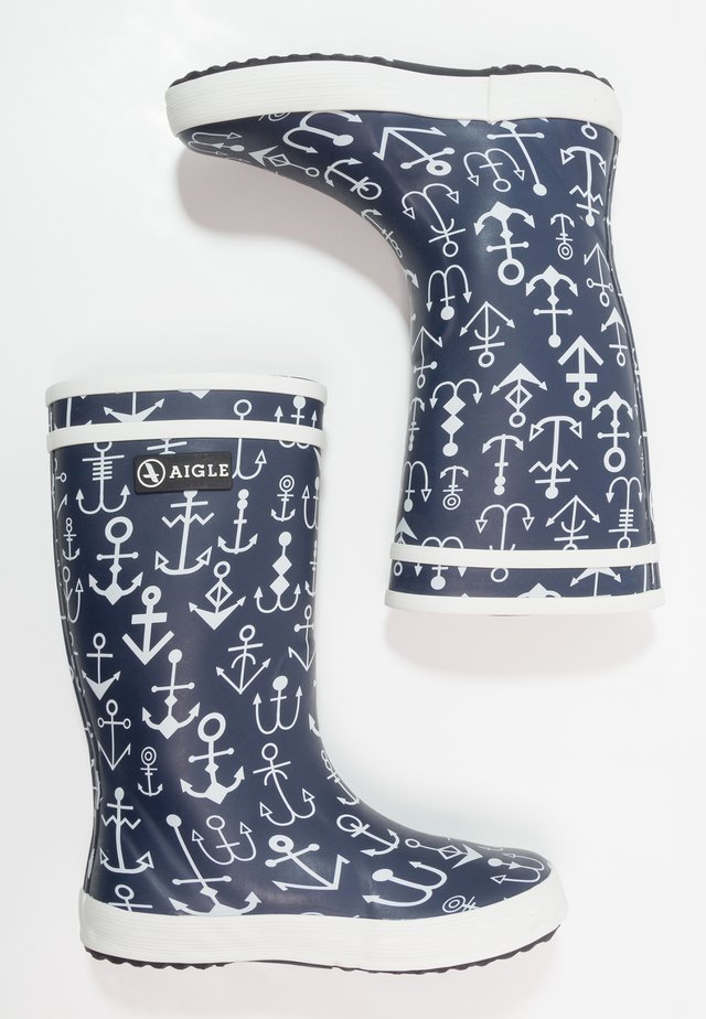 LOLLY POP KID - Wellies - dark navy/ancres