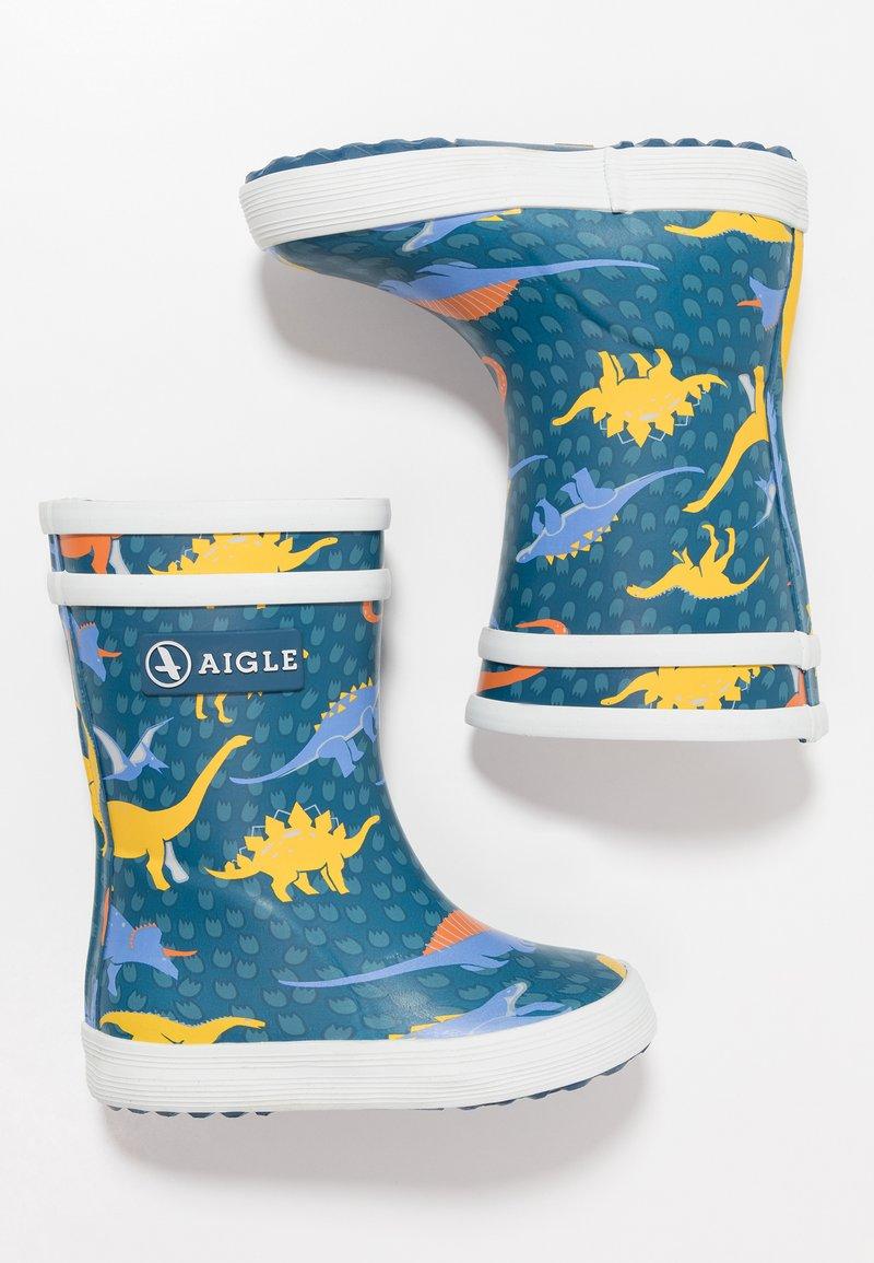 Aigle - BABY FLAC KID - Stivali di gomma - blue