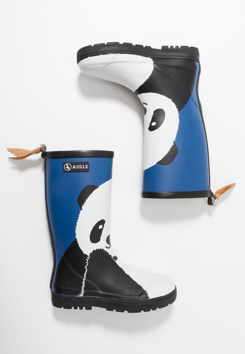 Aigle - WOODYPOP FUN - Stivali di gomma - blue