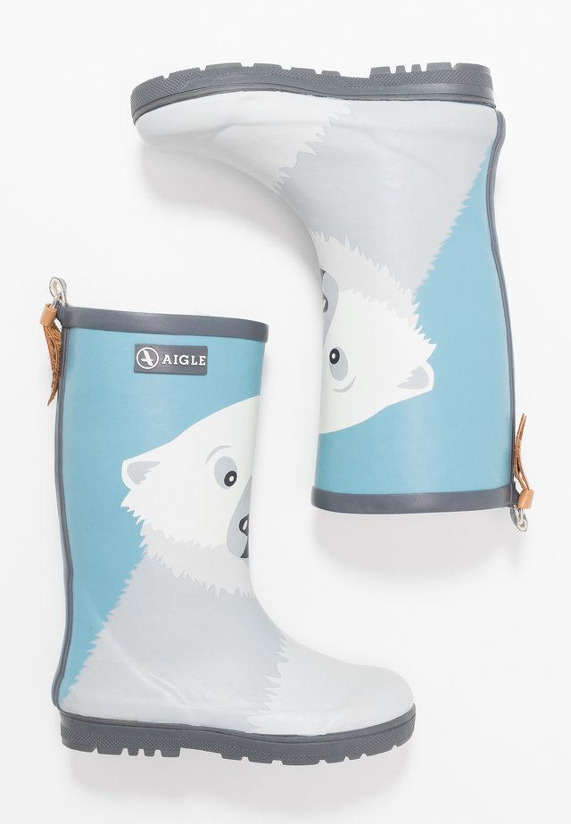WOODYPOP FUN - Wellies - blue