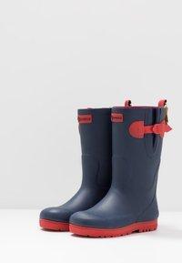 Aigle - POP ISO - Stivali di gomma - indigo/rouge - 3