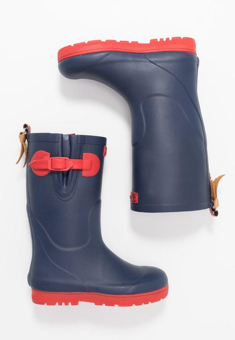 Aigle - POP ISO - Stivali di gomma - indigo/rouge