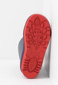 Aigle - POP ISO - Stivali di gomma - indigo/rouge - 5