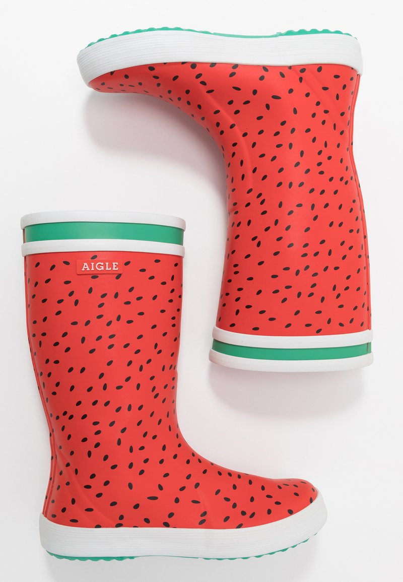 Aigle - LOLLY POP FUN - Wellies - pasteque