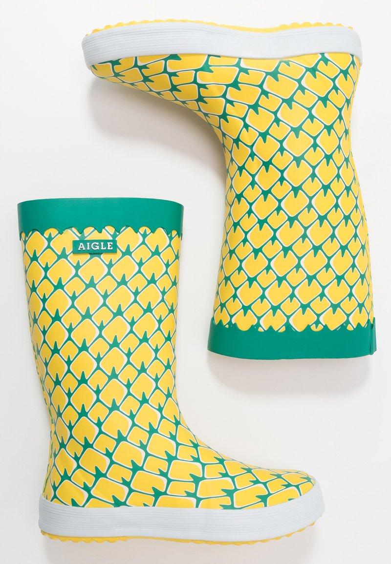 Aigle - LOLLY POP FUN - Wellies - yellow