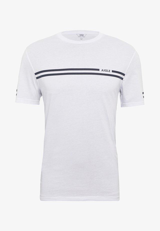 NARENDO - T-shirt imprimé - white