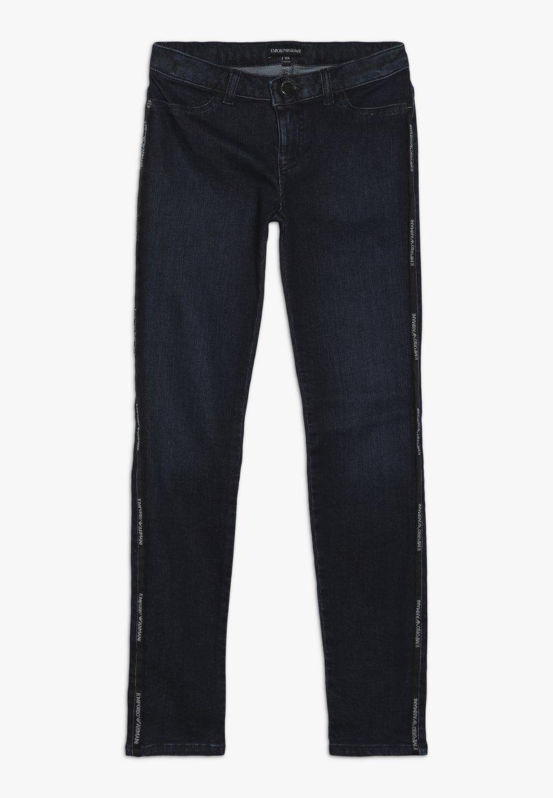 Emporio Armani - Džíny Slim Fit - denim blue