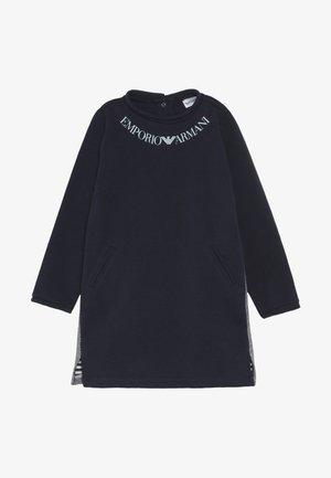 DRESS - Vestito di maglina - blu navy