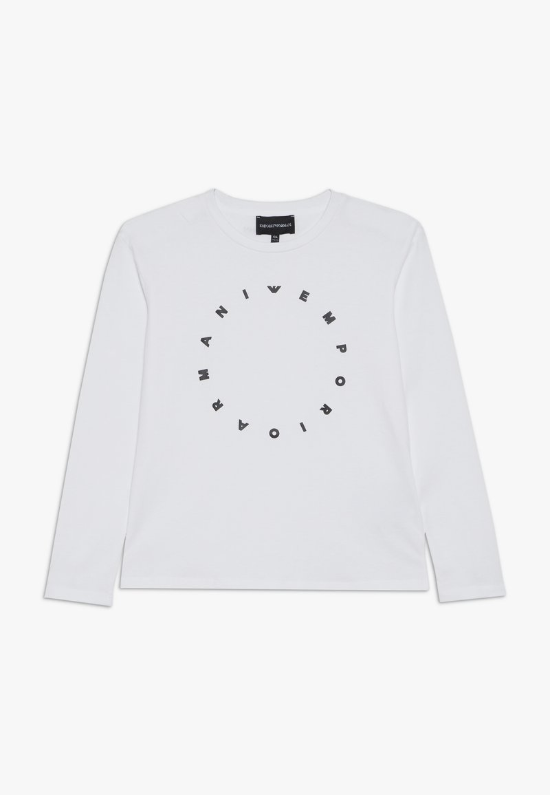 Emporio Armani - Long sleeved top - bianco ottico