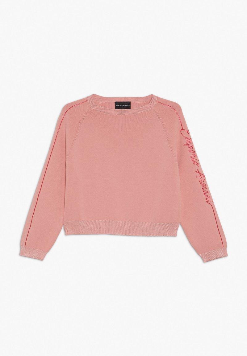 Emporio Armani - Jumper - rosa mayfair