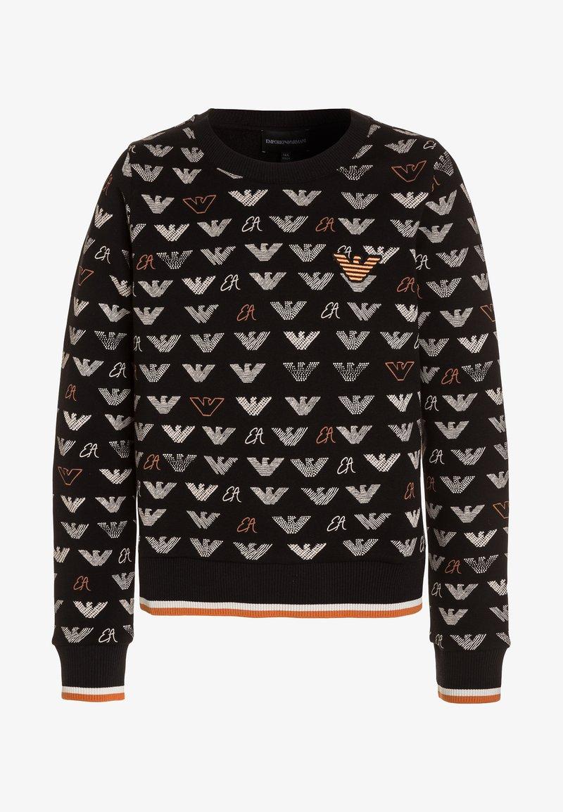 Emporio Armani - Sweatshirt - fantasia nera