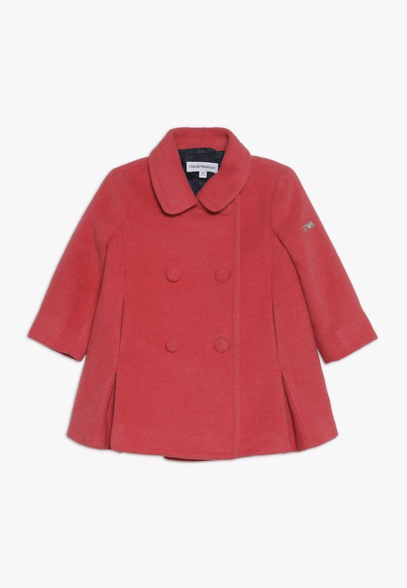 Emporio Armani - TESSUTO COAT - Cappotto classico - rosso