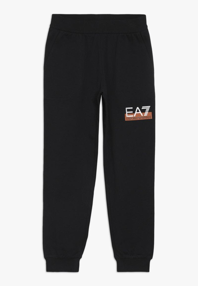 Emporio Armani - PANTALONI - Teplákové kalhoty - black