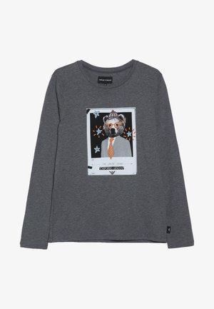 Long sleeved top - grigio melange