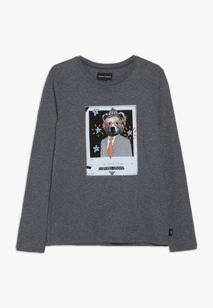 Topper langermet - grigio melange