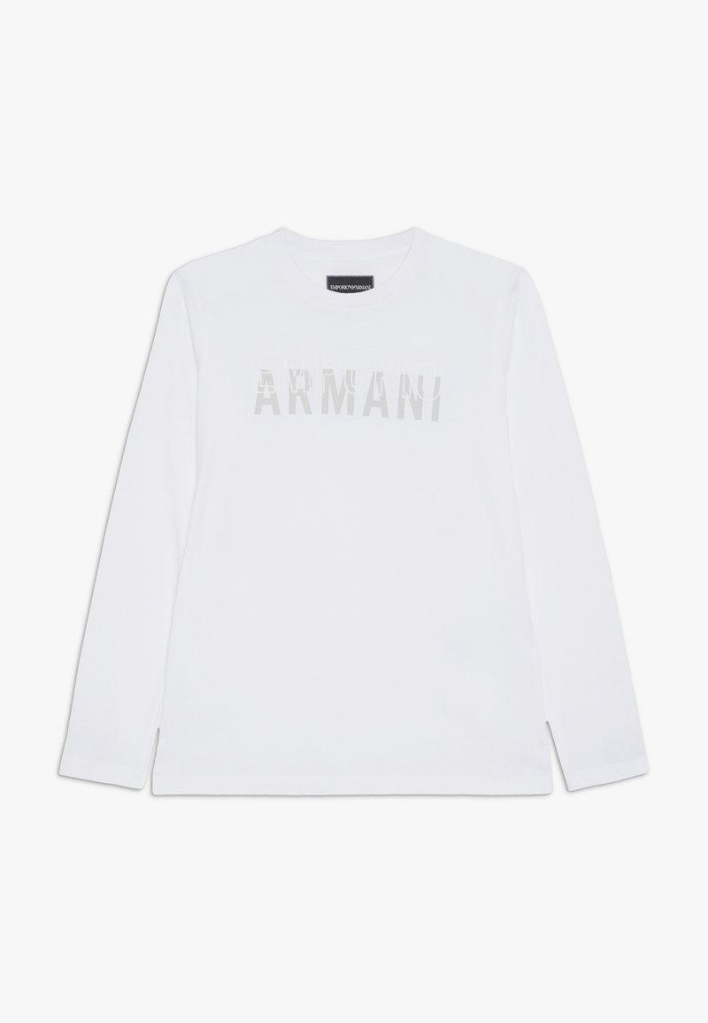 Emporio Armani - Langarmshirt - bianco