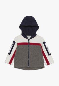 Emporio Armani - HOODIE JACKET - Zip-up hoodie - grey - 0