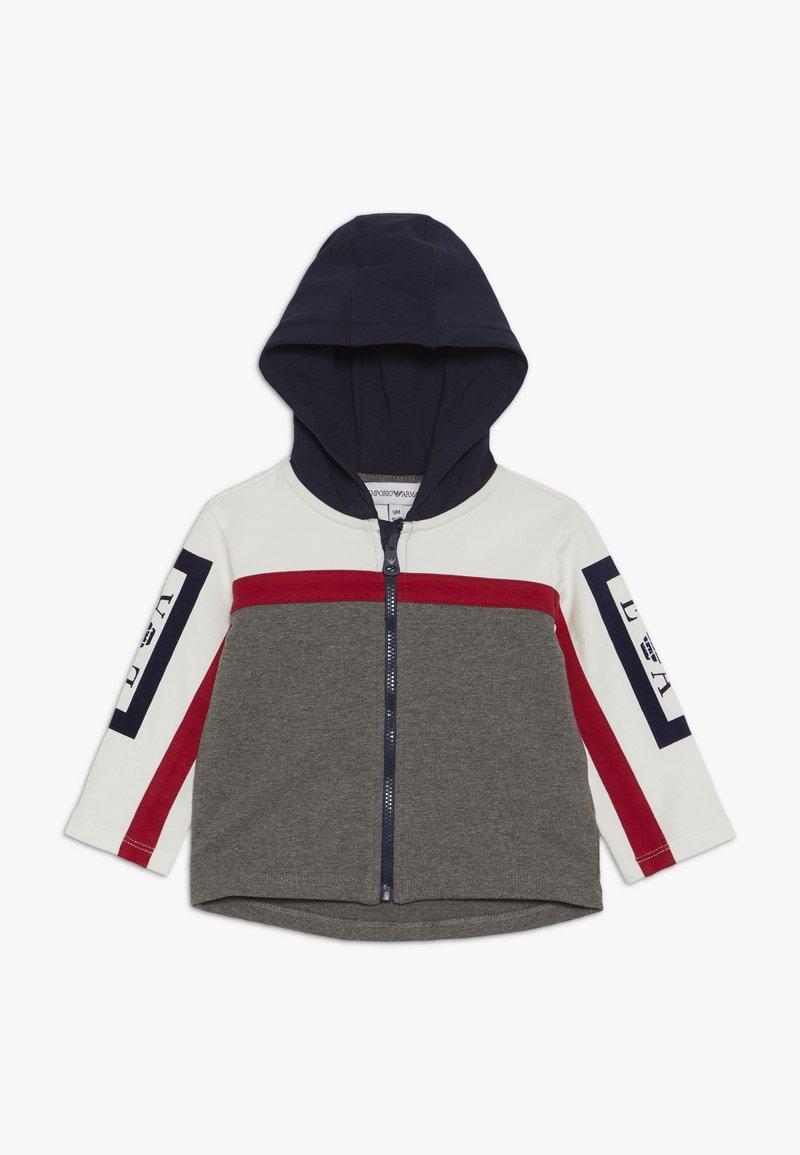 Emporio Armani - HOODIE JACKET - Zip-up hoodie - grey