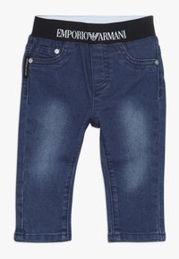 Emporio Armani - POCKET PANT - Relaxed fit jeans - blu navy - 0