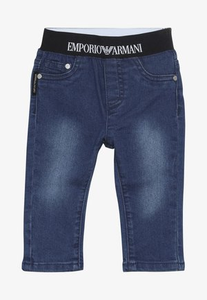 POCKET PANT - Relaxed fit jeans - blu navy