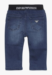 Emporio Armani - POCKET PANT - Relaxed fit jeans - blu navy - 1