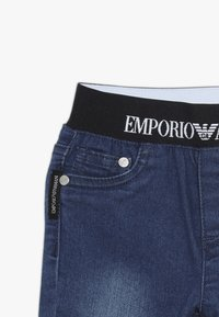 Emporio Armani - POCKET PANT - Relaxed fit jeans - blu navy - 3
