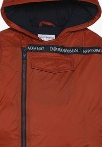 Emporio Armani - TESSUTO - Down jacket - giallo chiaro - 3