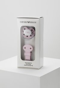 Emporio Armani - CIUCCIO CORDINO - Regalos para bebés - rosa chiaro - 4