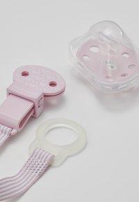 Emporio Armani - CIUCCIO CORDINO - Regalos para bebés - rosa chiaro - 3
