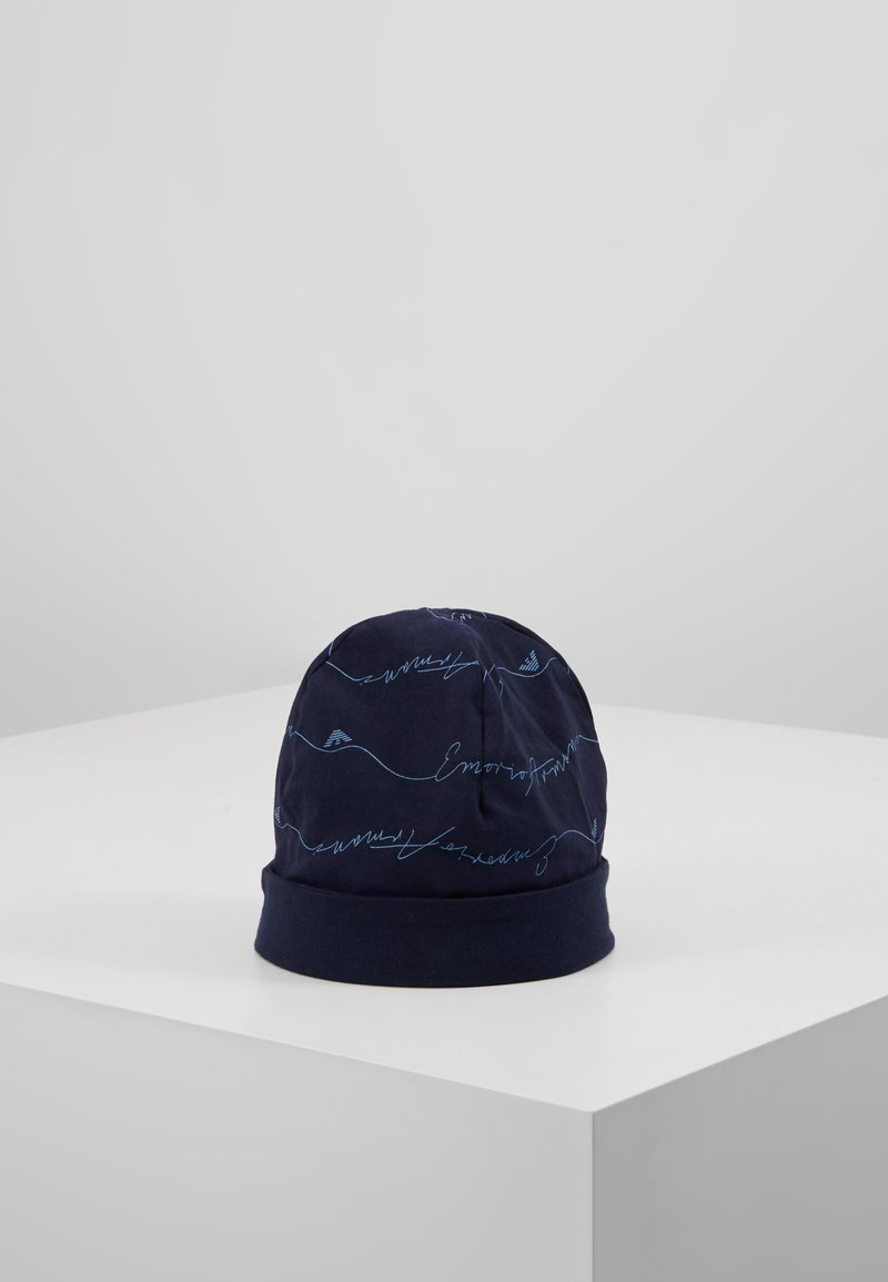 Emporio Armani - CUFFIA NEWBORN - Beanie - blu navy