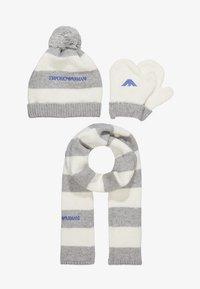 Emporio Armani - BABY BOYS SET - Beanie - grey - 4