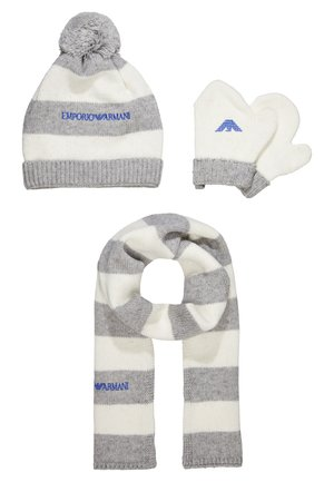 BABY BOYS SET - Beanie - grey
