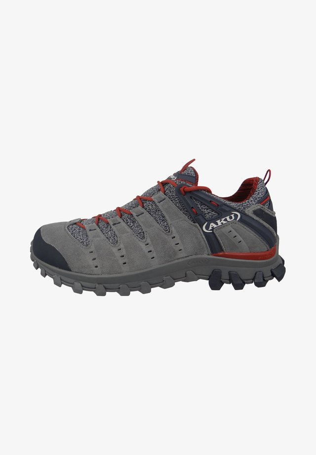 Hiking shoes - grey/red