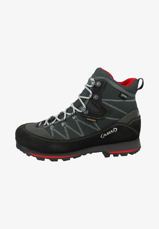 TREKKER LITE  - Hiking shoes - grey/red