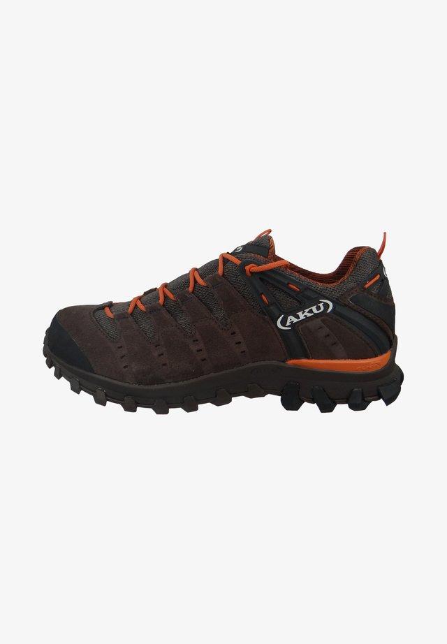 Hiking shoes - brown/orange