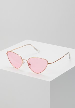 WIVI - Gafas de sol - gold-coloured/pink